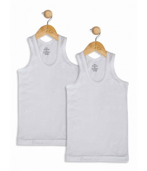 JOCKEY MODERN CLASSIC BOYS VEST 3320 (PACK OF 2)
