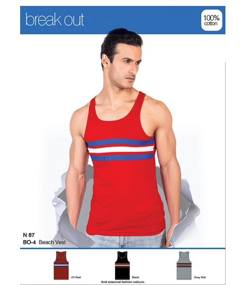 CHROMOZOME BEACH VEST BO-4
