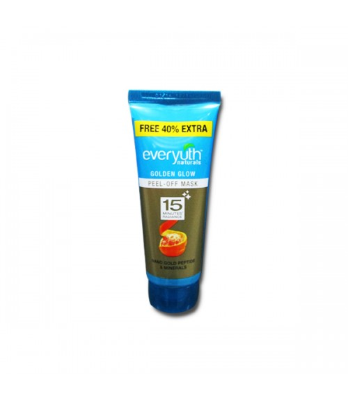 Everyuth Naturals Golden Glow Peel-Off Mask