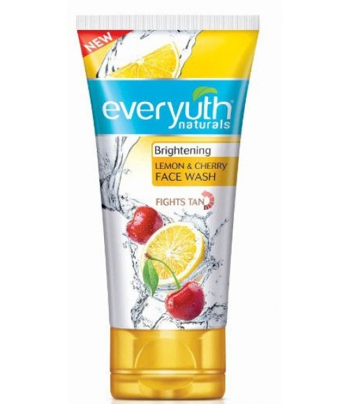 everyuth Lemon Cherry Face Wash 50g
