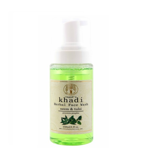 KHADI HERBAL NEEM & TULSI FACE WASH