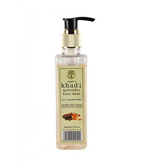 KHADI AYURVEDIC SANDAL WITH HONEY FACE WASH