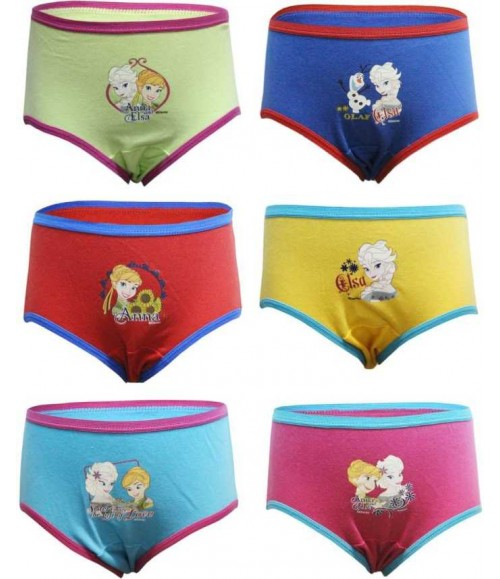 BODY CARE PANTY FROZEN PRINT 870 (PACK OF 3)