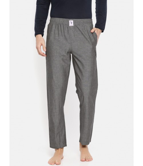 U.S. POLO ASSN. MEN SOLID LOUNGE PANTS I658