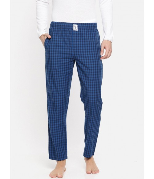 U.S. POLO ASSN. MEN CHECKED LOUNGE PANTS I659