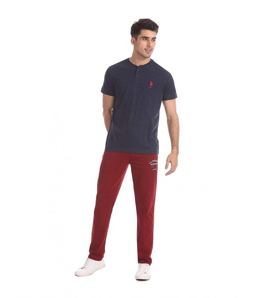 U.S. POLO ASSN. MEN SOLID FIT T-SHIRT I686