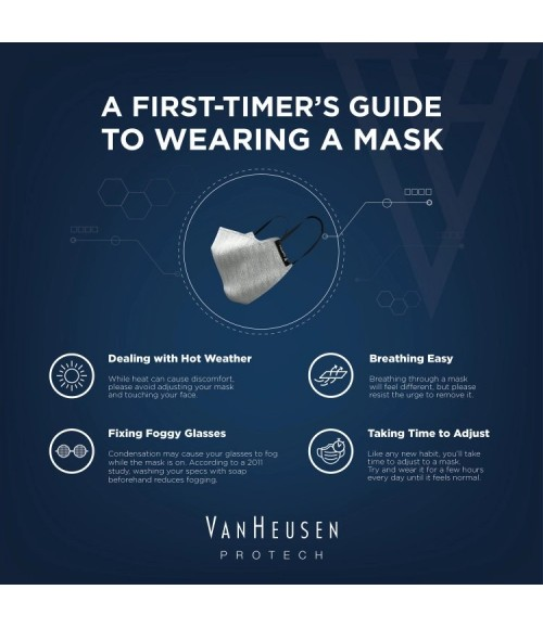 VANHEUSEN REVERSIBLE PROTECTION MASK 95002