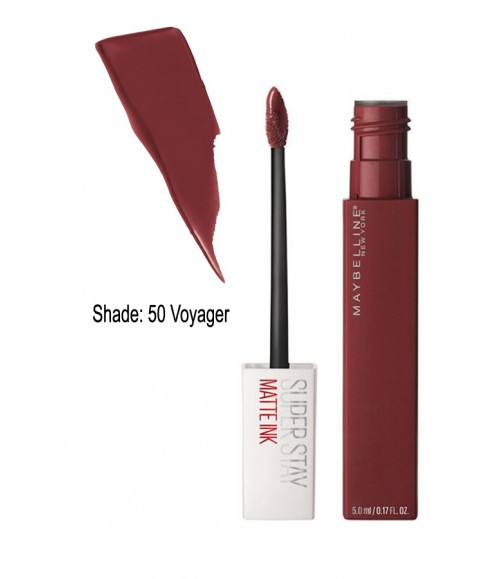 MAYBELLINE NEW YORK SUPER STAY MATTE INK LIQUID LIPSTICK