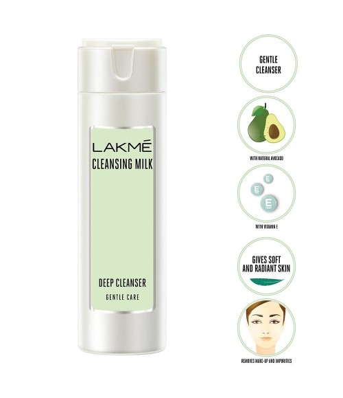 Lakme gentle and soft deep pore cleanser