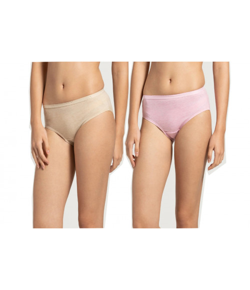 JOCKEY WOMEN PRINTED HIPSTER PANTIES (PACK OF 2) 1523