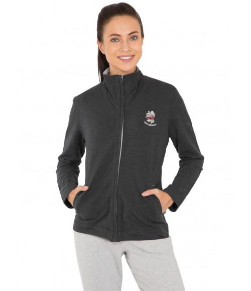JOCKEY WOMEN FASTENING ZIPPER JACKET UL08