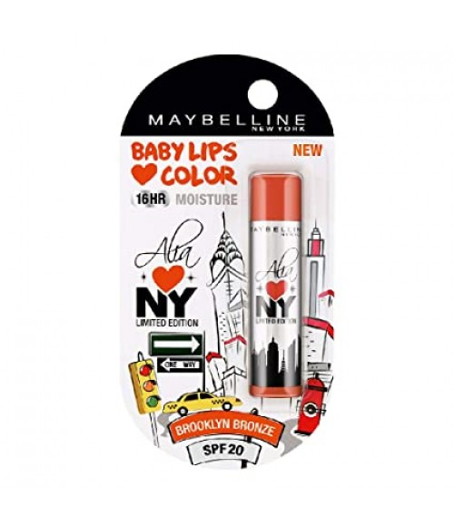 MAYBELLINE BABY LIPS COLOR BROOKLYN BRONZE