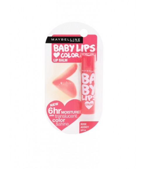 BABY LIPS COLOR LIP BALM ROSE ADDICT