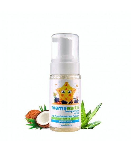MAMAEARTH FOAMING FACE WASH FOR KIDS
