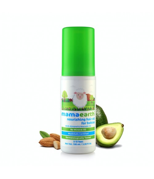 MAMAEARTH NOURISHING HAIR OIL FOR BABIES
